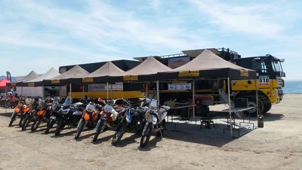 Memo Tours Rally Bivouac