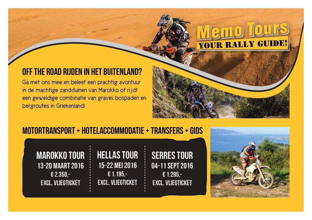 Rally rijden in het buitenland